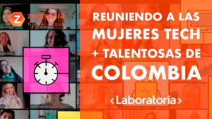 Zemsania patrocinador de Laboratoria en el Talent Fest Colombia 2021