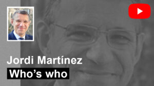 Who's who / Jordi Martínez ECOGESA