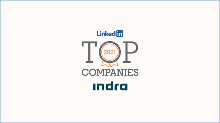 Indra, mejor empresa del Ibex 35 para desarrollar una carrera profesional en España, según Linkedin
