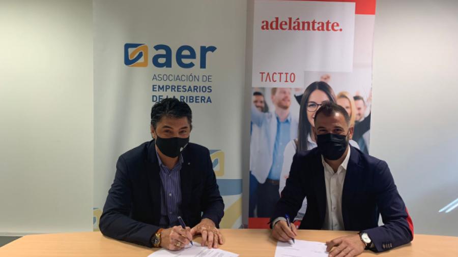 AER Y TACTIO SE UNEN PARA MEJORAR LA COMPETITIVIDAD DE LAS EMPRESAS DE LA RIBERA
