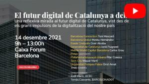ACEC co-organitza el 12x12 a Caixa Forum el 14 desembre 2021 amb la Generalitat de Catalunya i Tertulia Digital