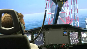 El Simulador del H175 de Indra entrenará a los pilotos del servicio de rescate aéreo (GFS) de Hong Kong
